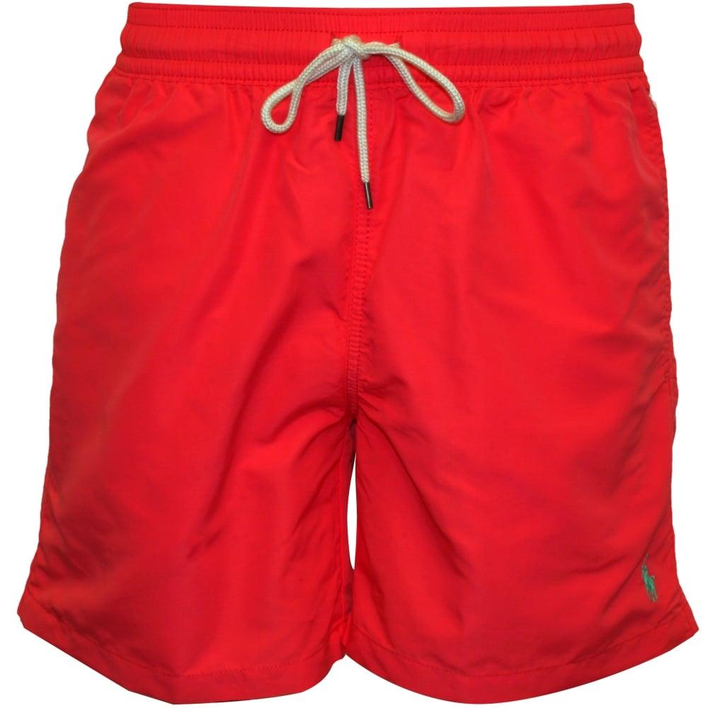 491f41b473 Polo Ralph Lauren Traveller Swim Shorts, Coral | UnderU