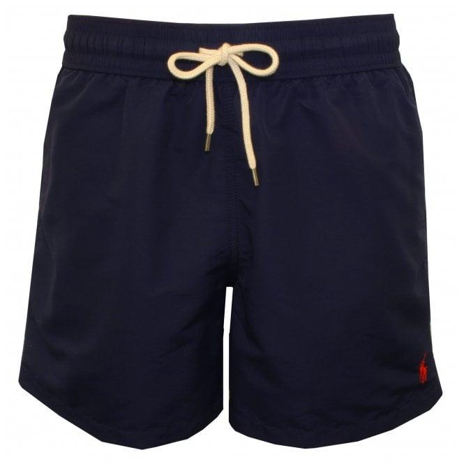 95638c169a Polo Ralph Lauren Traveller Swim Shorts, Newport Navy | UnderU