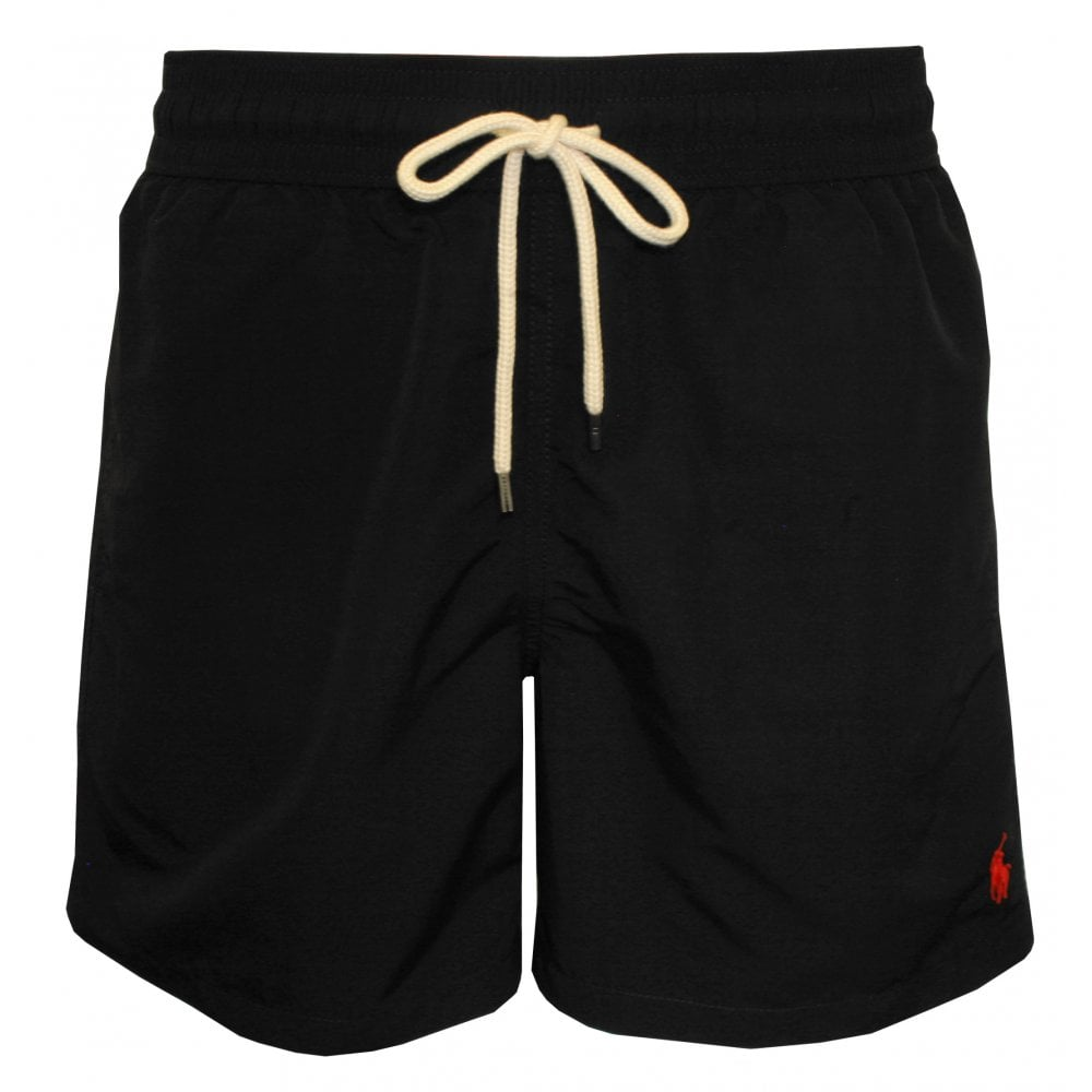 a93a6e95a6 Polo Ralph Lauren Traveller Swim Shorts, Polo Black | UnderU