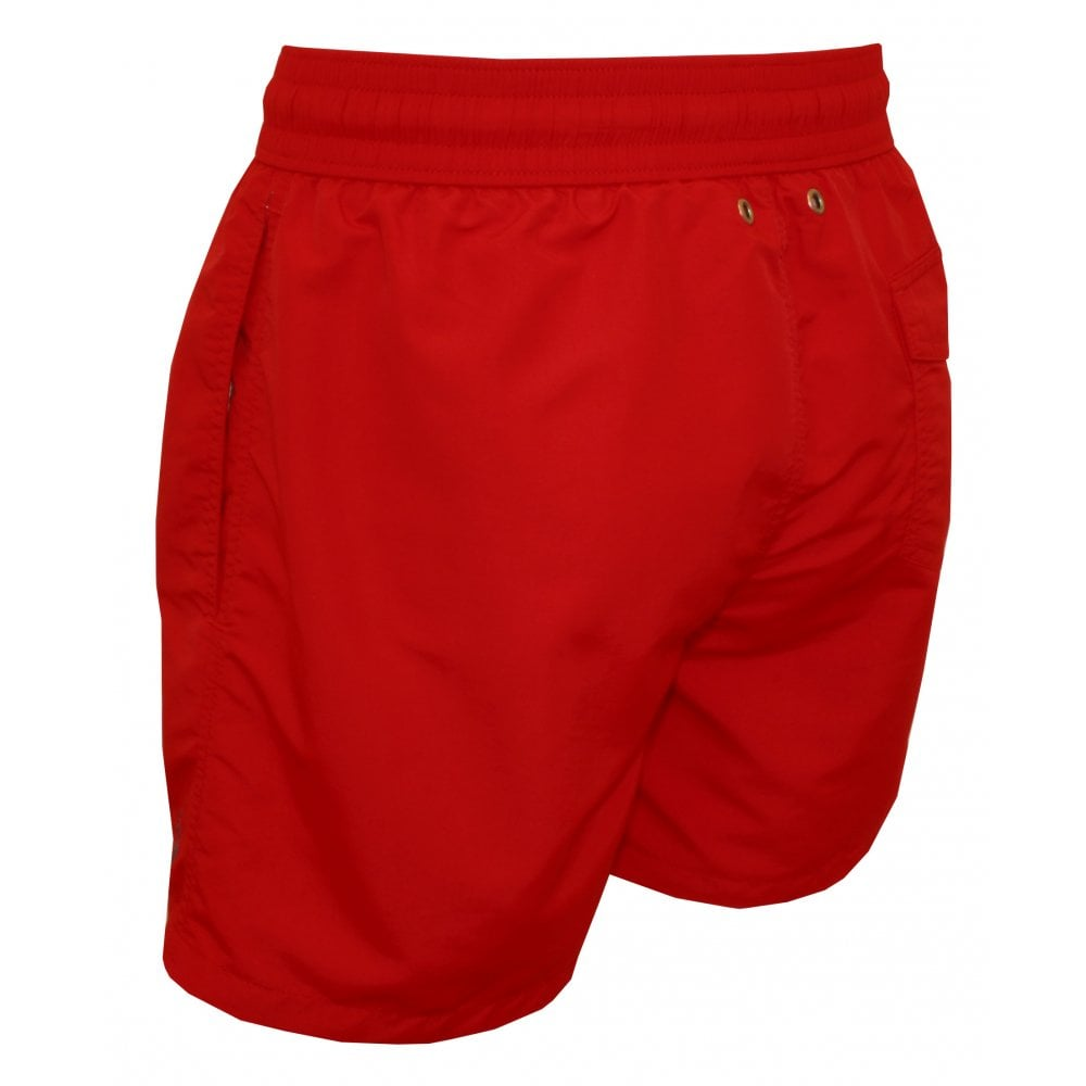 d9fb4f4899 Polo Ralph Lauren Traveller Swim Shorts, Red | UnderU