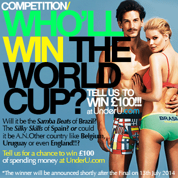 Who will win the World Cup? Tell us for chance to win £100