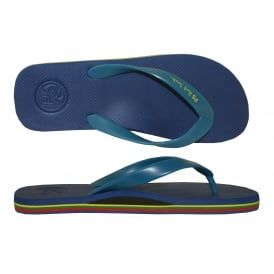 PS Classic Rubber Flip Flops, Electric Blue