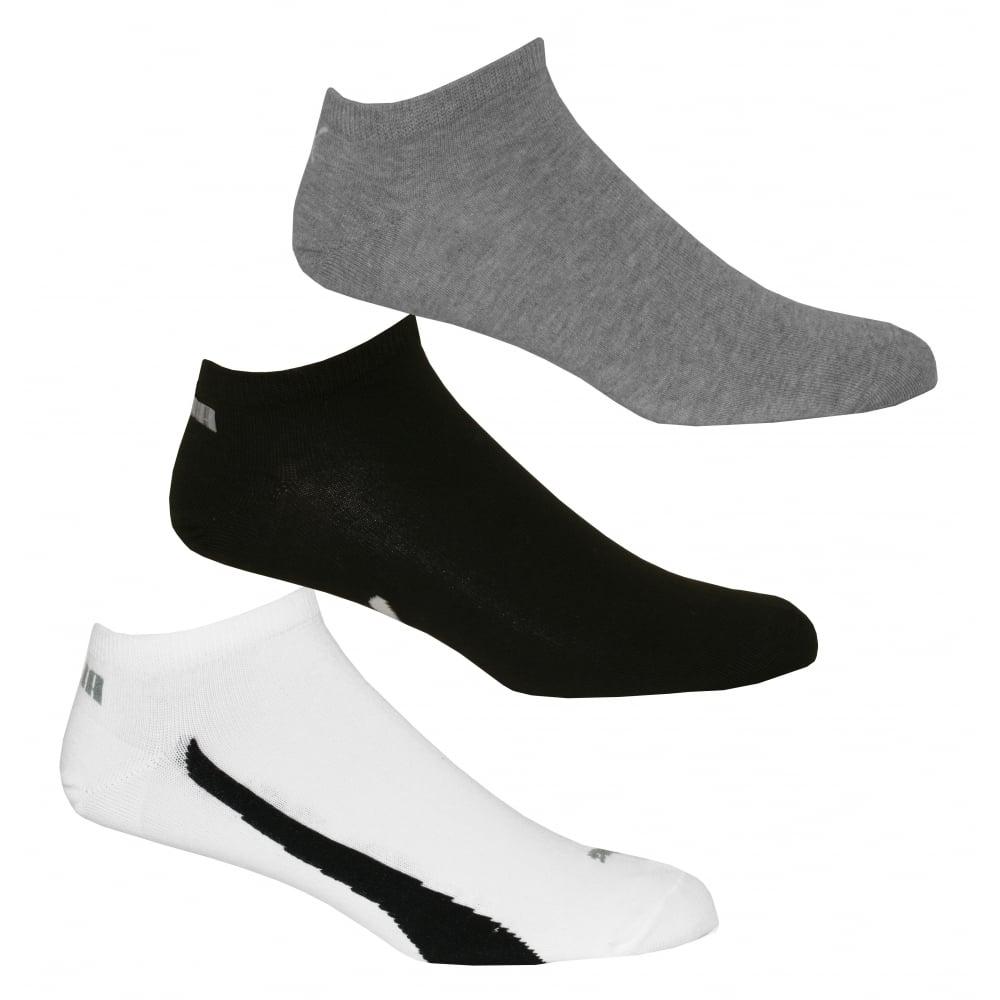 4689bea7c2e9 Puma 3-Pack Lifestyle Trainer Socks