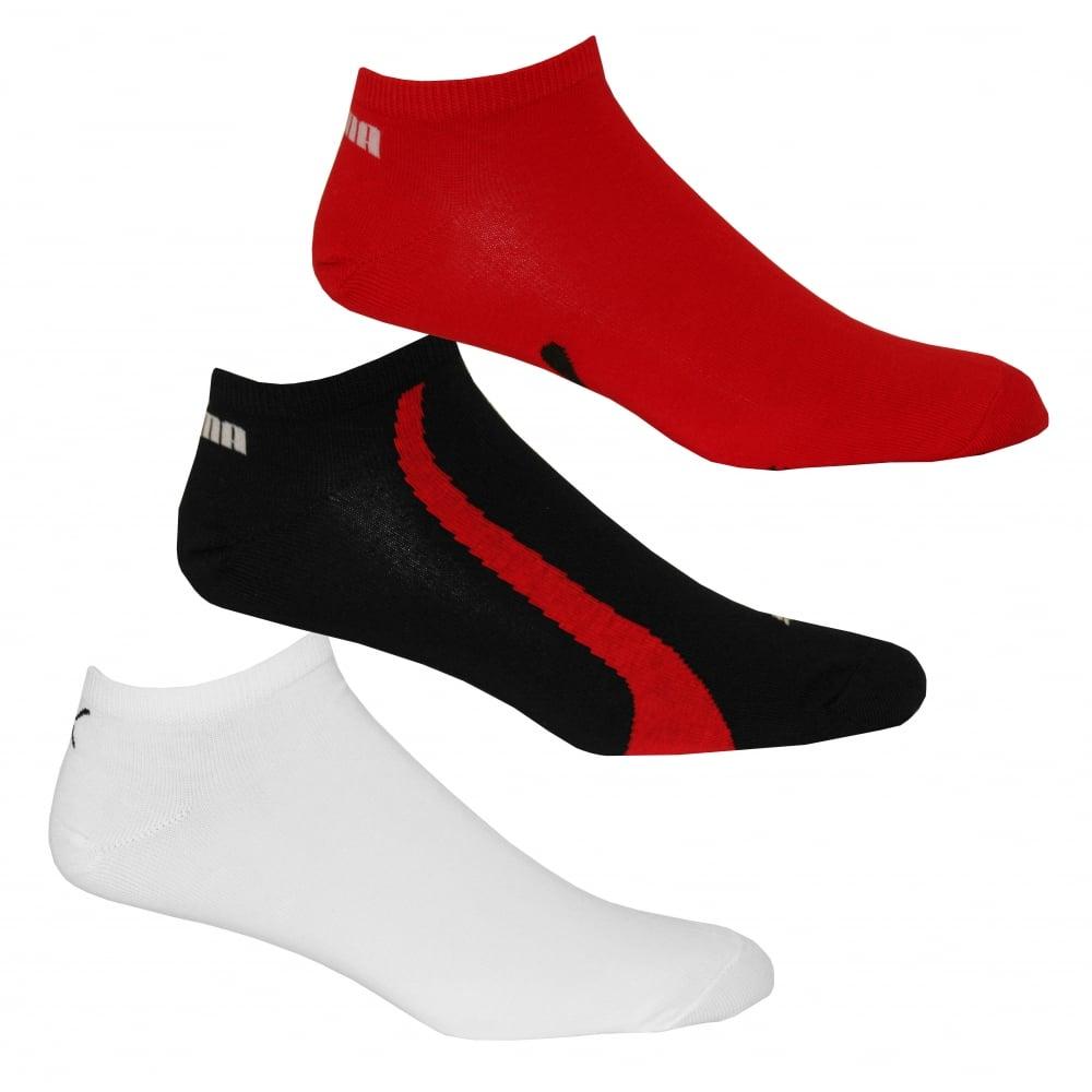 Puma 3-Pack Lifestyle Trainer Socks