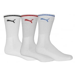 ee3d738c04be Puma 3-Pack Sports Crew Socks