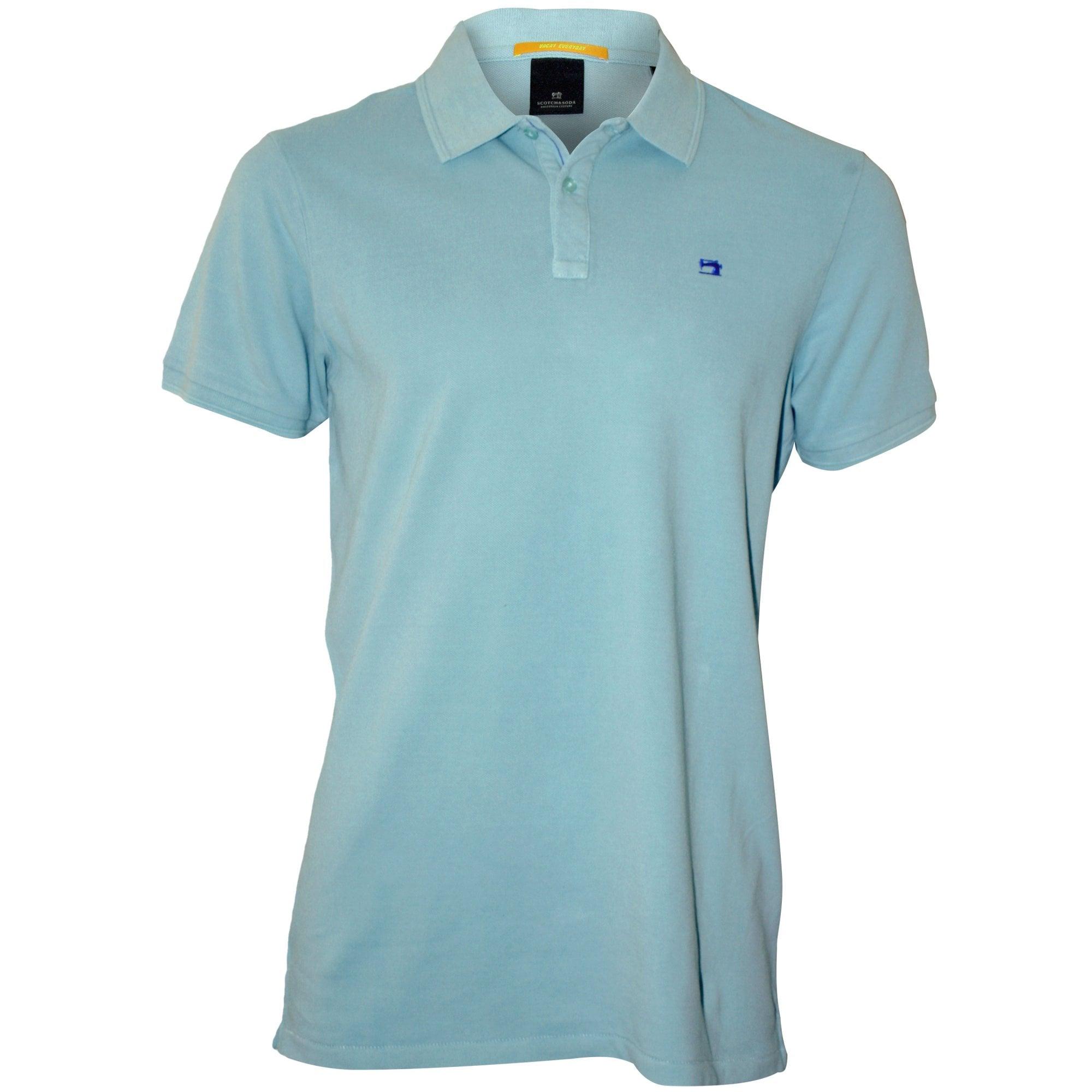 Scotch \u0026 Soda Pique Polo Shirt, Pool
