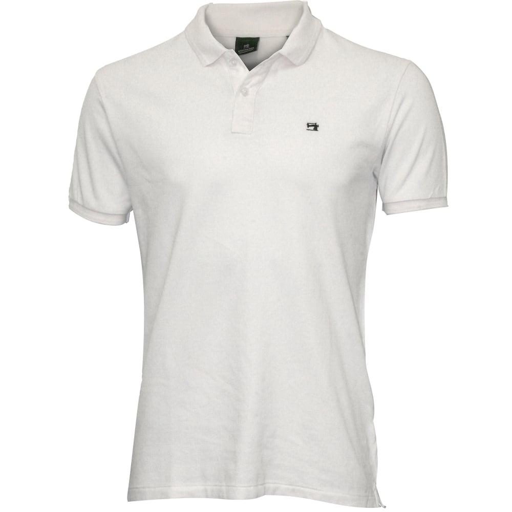 Website für Rabatt Shop für authentische absolut stilvoll Classic Pique Polo Shirt, White