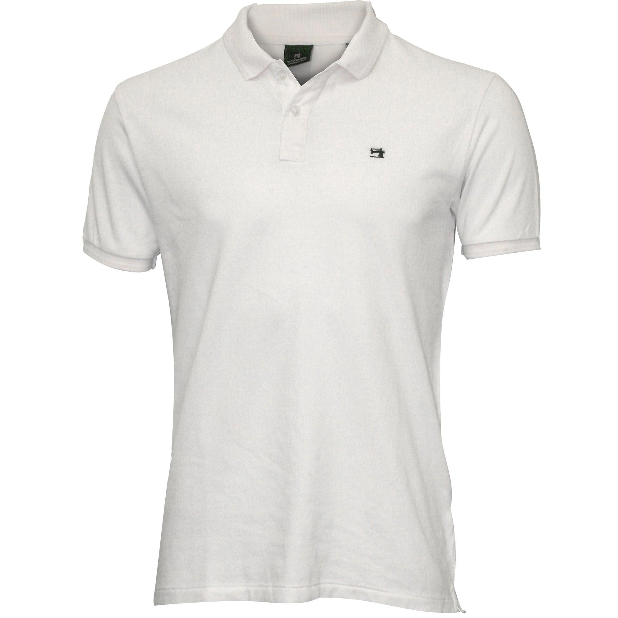 Scotch \u0026 Soda Classic Polo Shirt White
