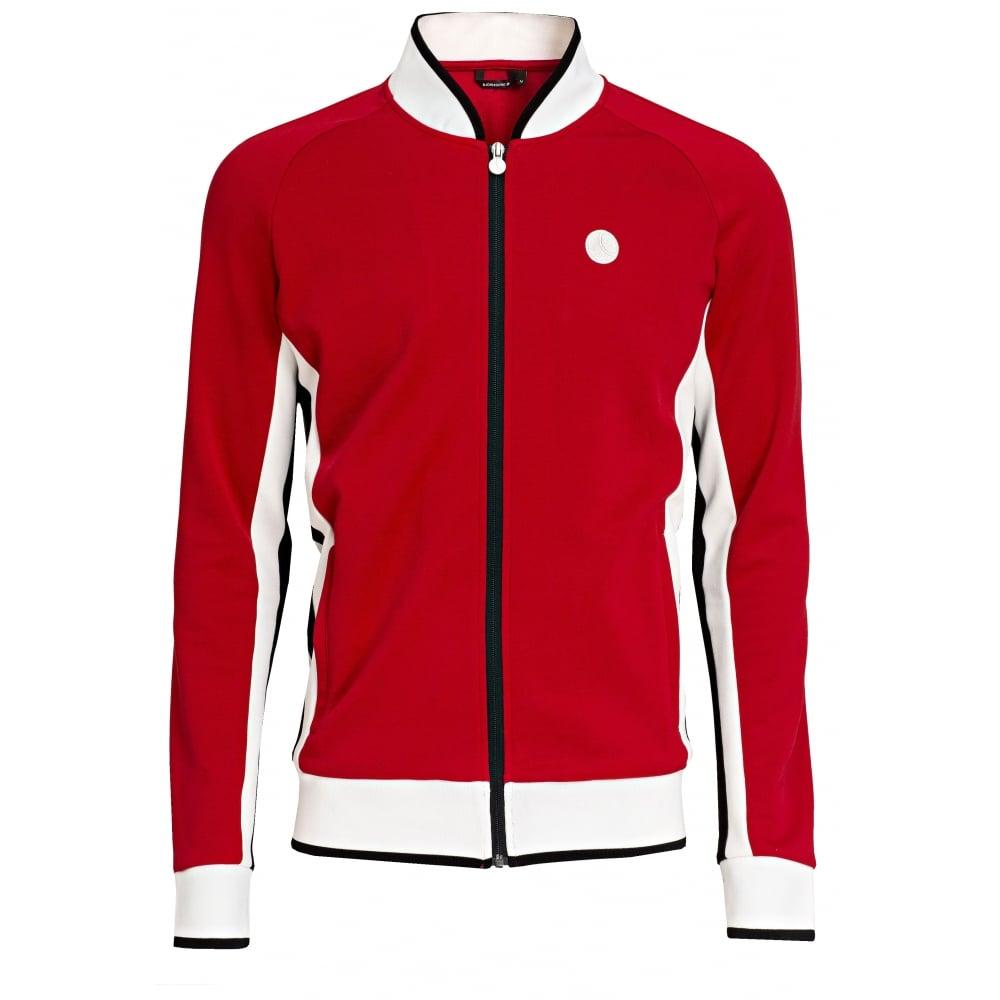 Bjorn Borg Signature '72 Track Jacket, Racing Red