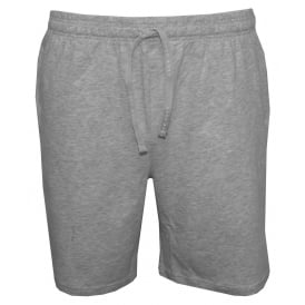Single Jersey Tracksuit Shorts, Light Grey