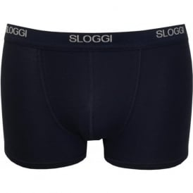 Basic Short Boxer Trunk, Navy
