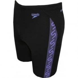 Endurance+ Monogram Jammer, Black/Sport Purple