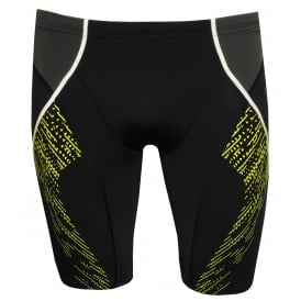 Speedo-Fit Endurance+ Panel Jammer, Black / Oxide Grey / Lime