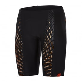 Speedo-Fit Endurance+ PowerMesh Pro Jammer, Black/Orange