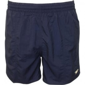 "Solid Leisure 16"" Water Shorts, Navy"