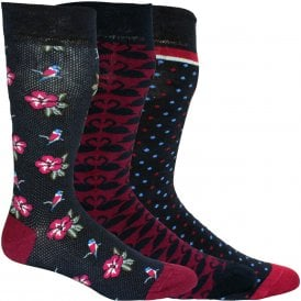 b0f261c96 3-Pack Multi-Patterned Socks Gift Set