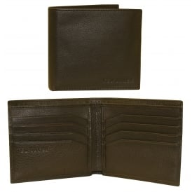 Anville Leather Wallet, Chocolate Brown