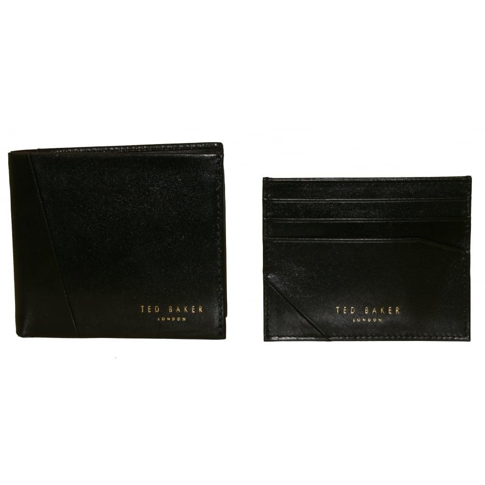3ea5f96edf12de Ted Baker Leather Wallet   Cardholder Gift Set