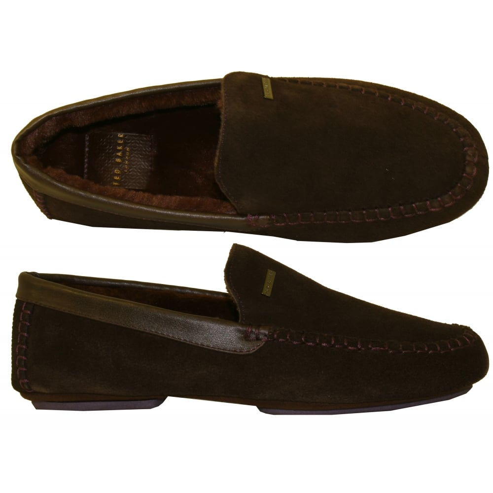 99084c0063fe Ted Baker Moriss 2 Suede Moccasin Slippers