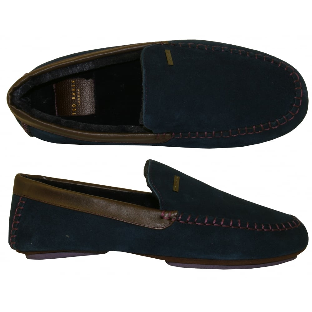 ff23c3a957ca Ted Baker Moriss 2 Suede Moccasin Slippers