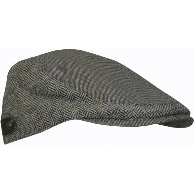 8757bbb23 Ted Baker Oxford & Herringbone Flat Cap, Grey