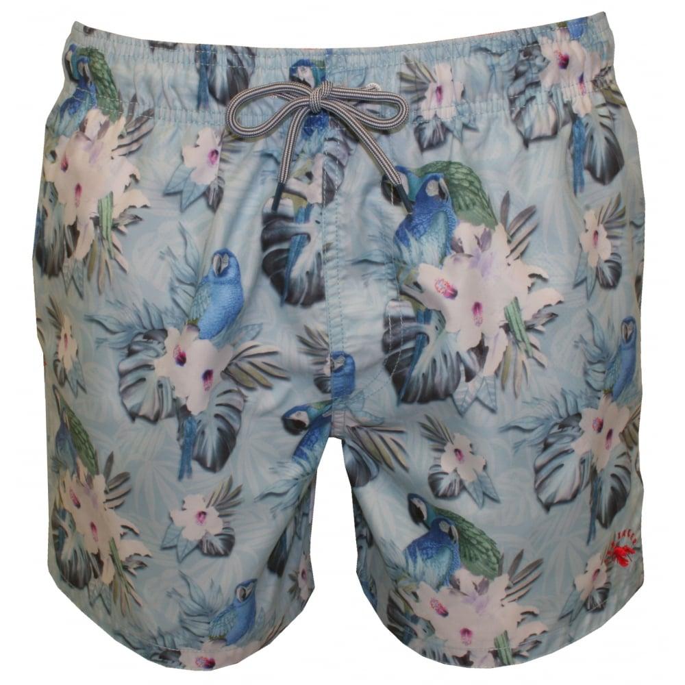 be91d2c73db Ted Baker Parrots   Hawaiian Floral Swim Shorts