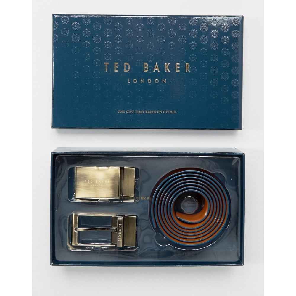 6703eae05018a Ted Baker Reversible 4-Way Gift-Set Leather Belt