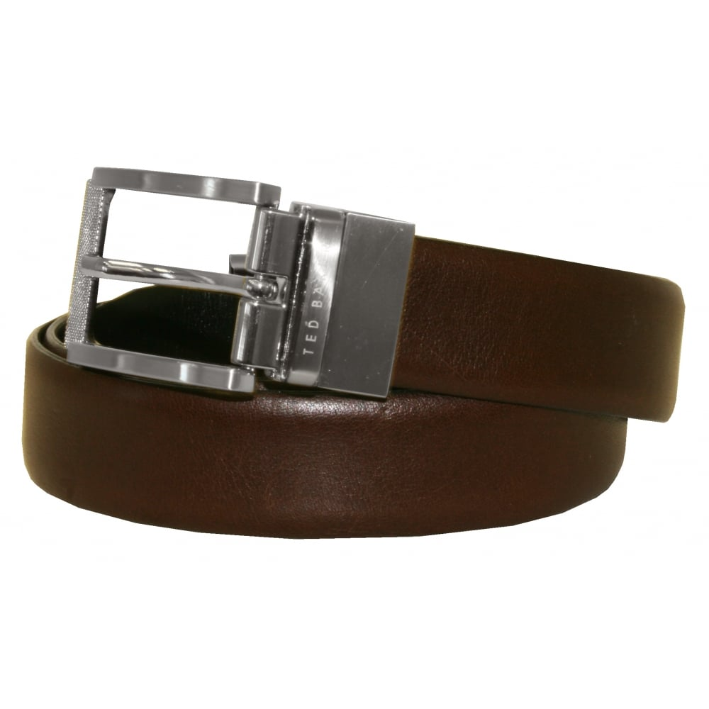 6653e5dbc Ted Baker Reversible Textured Leather Belt