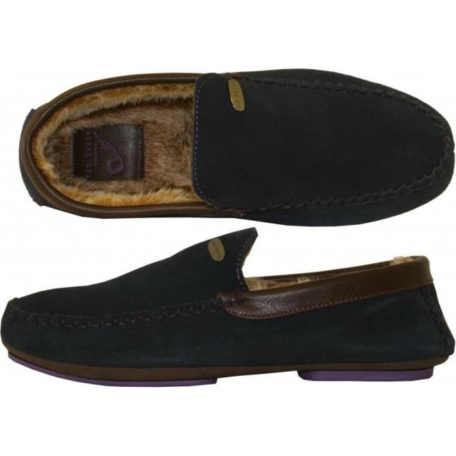 b61cac2c1 Ted Baker Ruffas Suede Slippers