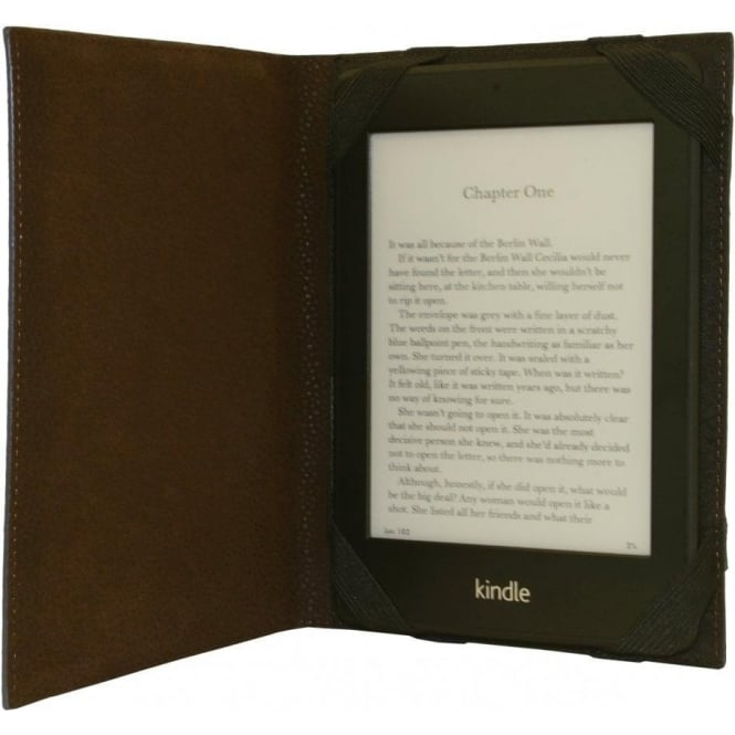 Ted Baker Scotch Grain Digital Book Case, Chocolate Brown