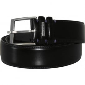 Smart Leather Belt, Black