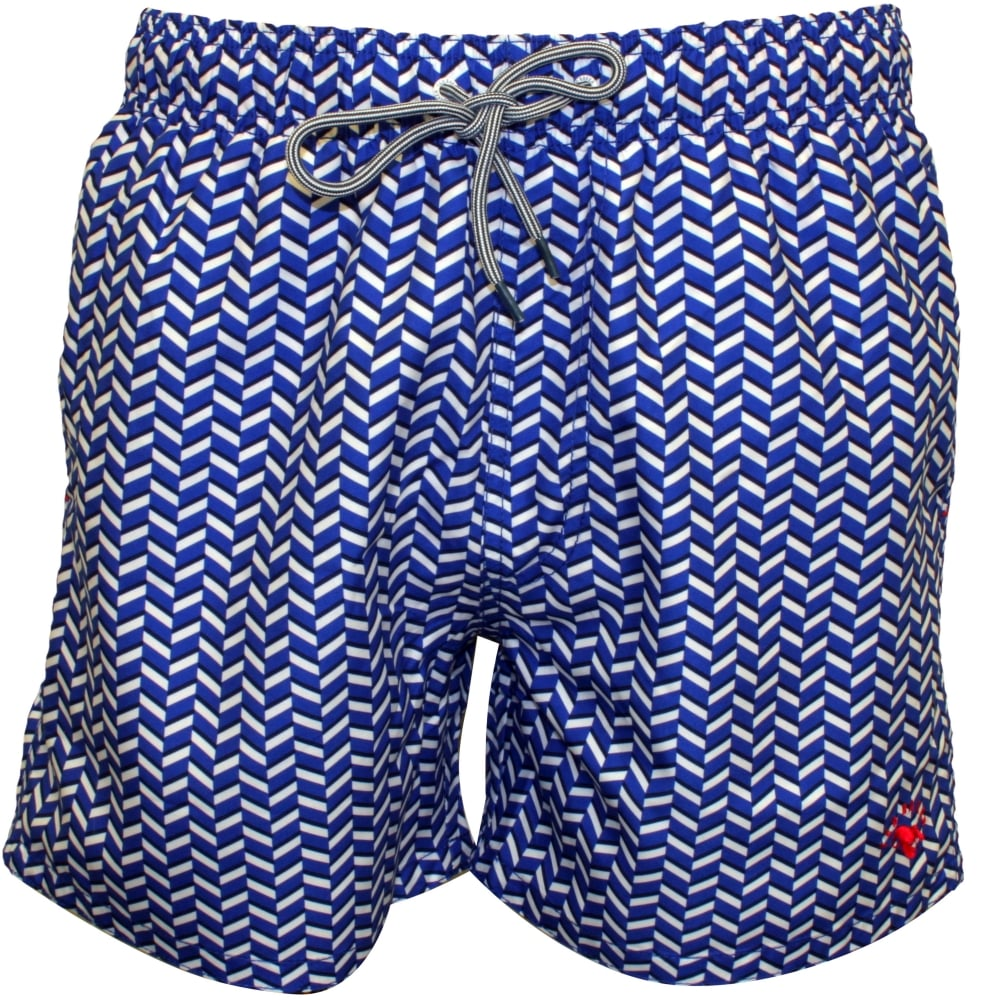 26cff76f8 Ted Baker Geo Print Swim Shorts
