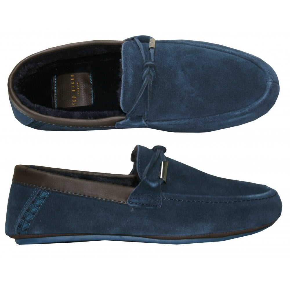 Ted Baker Valcent Suede Moccasin