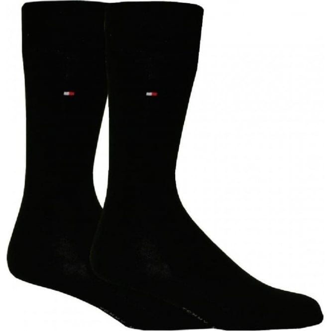 Tommy Hilfiger 2-Pack Classic Socks, Black