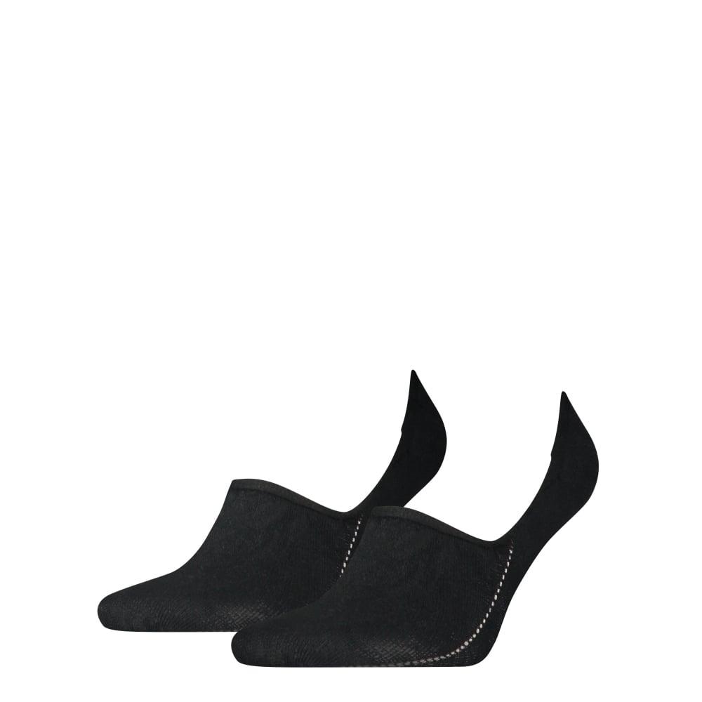 Tommy Hilfiger 2-Pack Heel Logo Invisible Shoe-Liner Socks ...