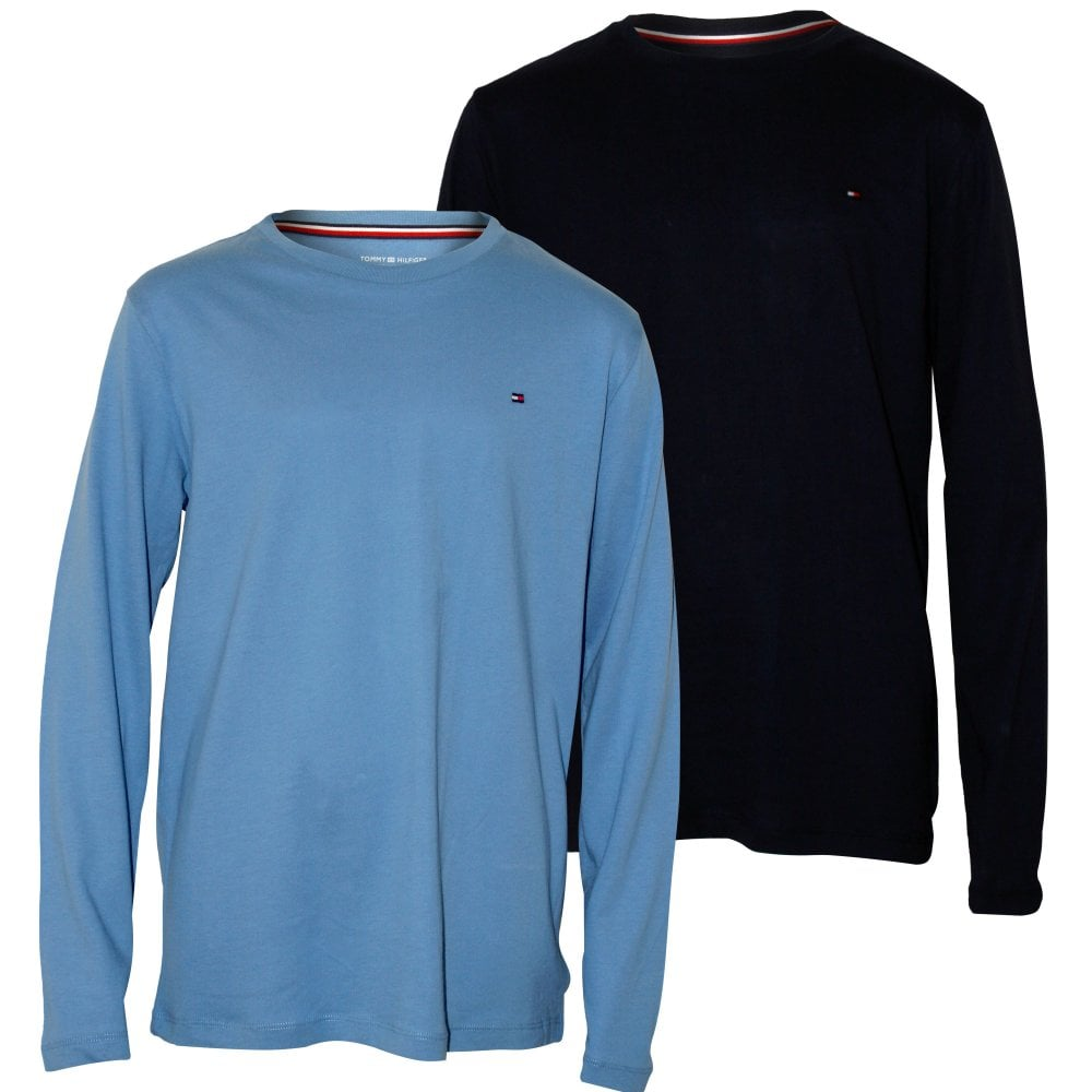 49b48ef1 Tommy Hilfiger 2-Pack Long-Sleeve Jersey Boys T-Shirts, Blue | UnderU