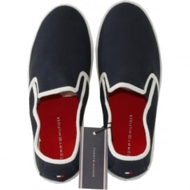 Canvas Plimsoll, Navy