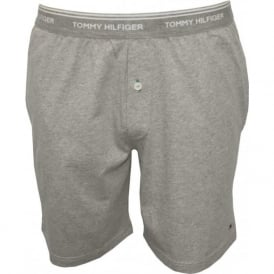 Classic Jersey Lounge Shorts, Grey