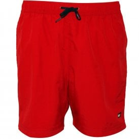 666e25397 Classic Logo Boys Swim Shorts, Tango Red Kids. Tommy Hilfiger ...