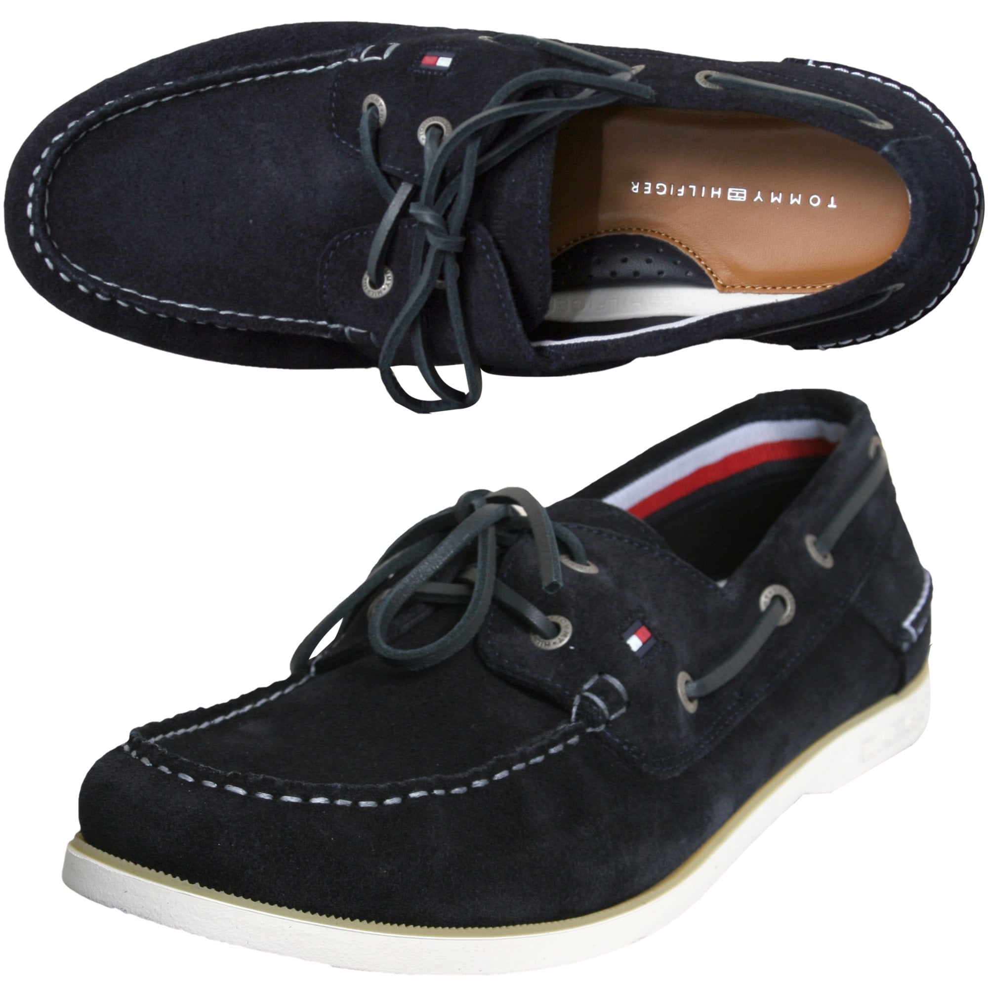 Tommy Hilfiger Classic Suede Boatshoes