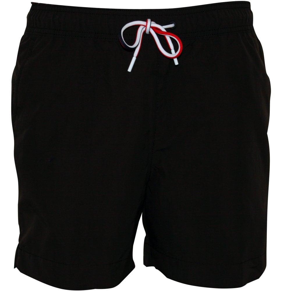 3f0f2d583321e Tommy Hilfiger Swim Shorts, Black | Hilfiger swimwear | UnderU