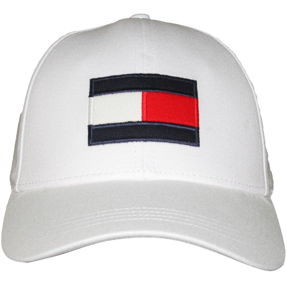 Tommy Hilfiger Flag Logo Baseball Cap 0750e0ac8353