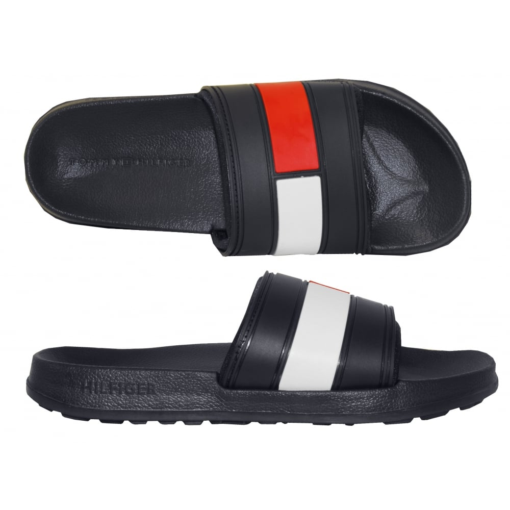 b2f5c768a860 Tommy Hilfiger Flag Logo Pool Sliders