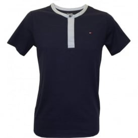 Gene Henley Short-Sleeve T-Shirt, Navy