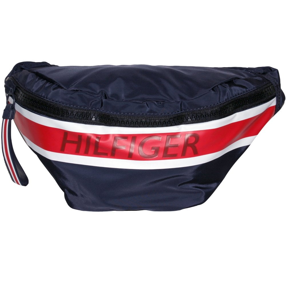 wide varieties many fashionable wholesale price Hilfiger Crossbody Bag, Navy/red