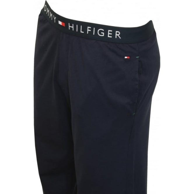ee0c4beacf7 Tommy Hilfiger Icon Cotton Jersey Lounge Pants, Navy | UnderU