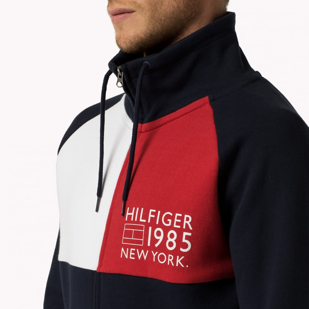 a0b3e4543 Tommy Hilfiger Icon Flag Zip-Thru Jacket