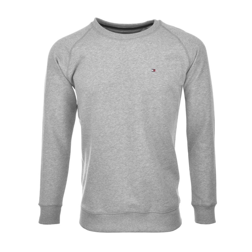 66f4de1c Tommy Hilfiger Icon Hawk Long-Sleeve Sweatshirt, Heather Grey | UnderU
