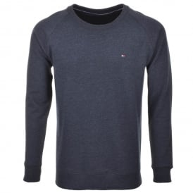 Icon Hawk Long-Sleeve Sweatshirt, Navy