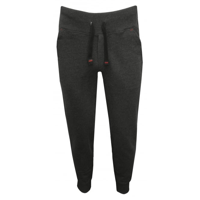 Tommy Hilfiger Icon Hawk Tracksuit Bottoms, Charcoal Grey